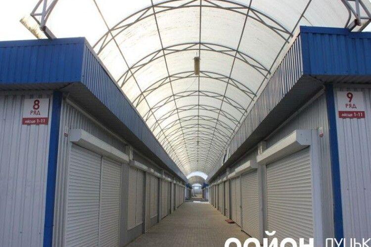 Підприємцям «Центрального» ринку у Луцьку дали час на переїзд до 1 червня