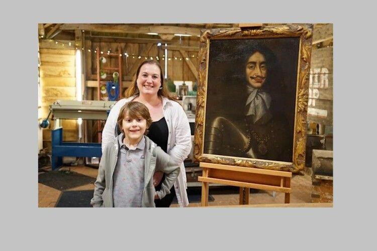 7-річний хлопець вмовив маму на реставрацію картини: виявилося, що вона XVII століття