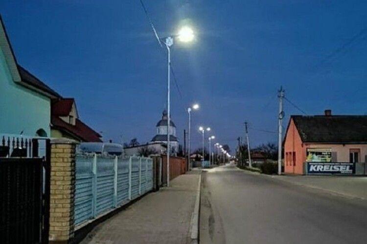 У Ковелі вулиці обладнали ліхтарями з символікою міста