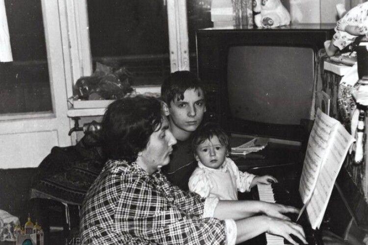 Померла мама глави українських греко-католиків Святослава Шевчука