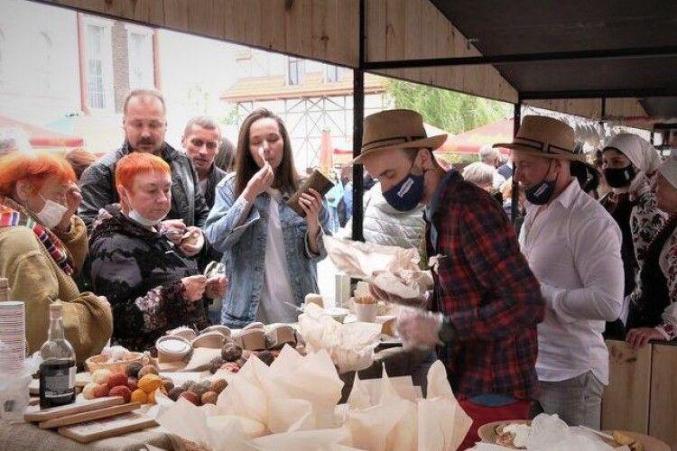 У Рівному пройшов фестиваль автентичної кухні «Мацик»