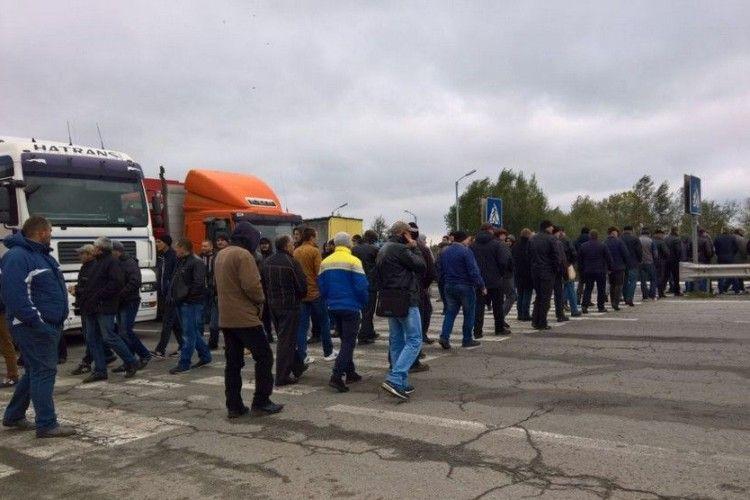 На «Ягодині» мітингувальники 9 січня перекриватимуть кордон із Польщею