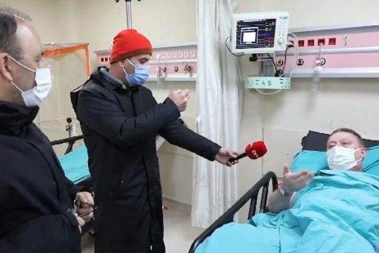 Посол назвав імена врятованих членів екіпажу «Арвіна»