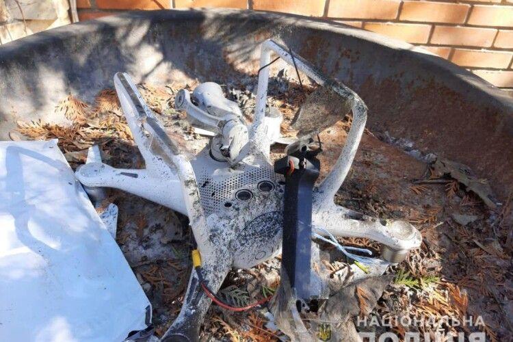 В Одесі на будинок скинули гранату з квадрокоптера