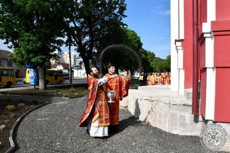 У Луцьку освятили новий храм УПЦ (Московського патріархату)
