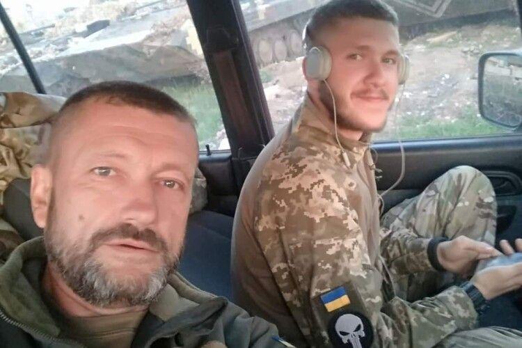 Ветеран 72-ї бригади служив разом із сином, а тепер допомагає йому одужати
