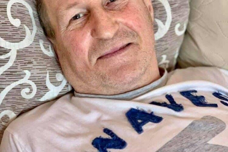 Киянин, якому в Ковелі пересадили серце, влаштувався на роботу і втретє став дідусем