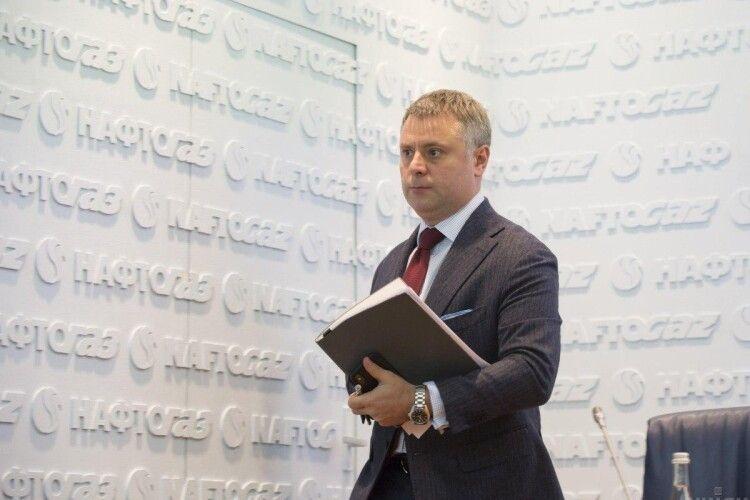 Виконувач обов'язків міністра енергетики Юрій Вітренко написав заяву про звільнення