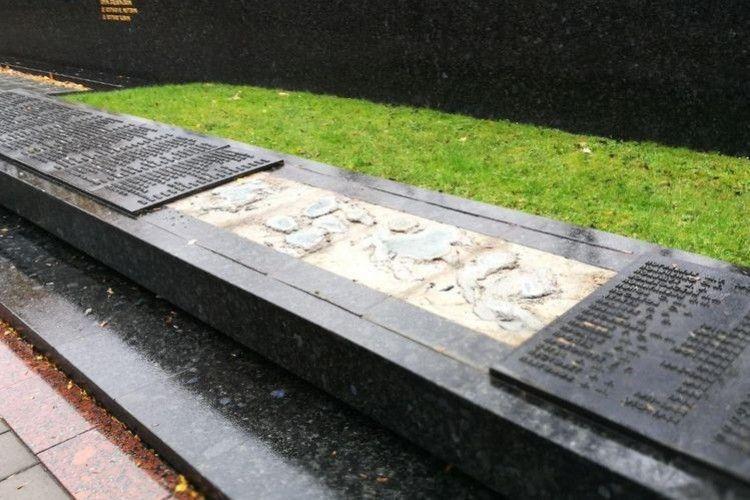 На луцькому «Меморіалі Вічної Слави» вкрали плиту