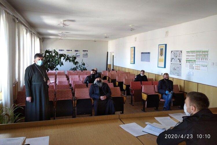 На Горохівщині поліція зібрала священників
