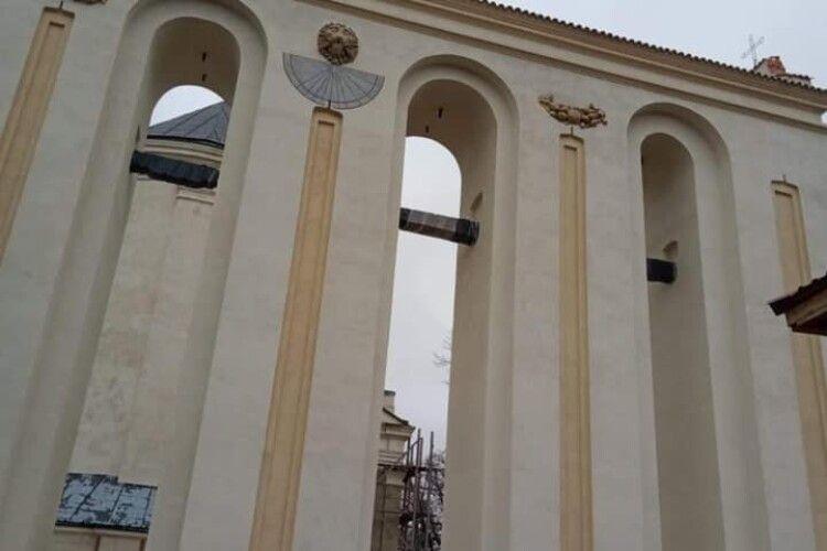 В Олиці реставрували унікальну дзвіницю (Фото)