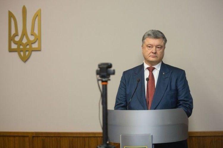 Порошенко дав свідчення у справі про держзраду Януковича: про що сказав Президент