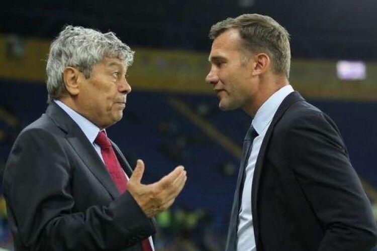 Шевченко очолив рейтинг головних людей в українському футболі