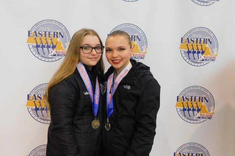 Сестри-українки в США боротимуться за чемпіонство у синхронному фігурному катанні