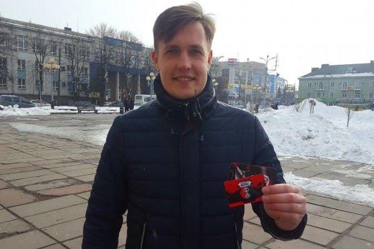 Письменник Макс Кідрук став членом ФК «Верес»