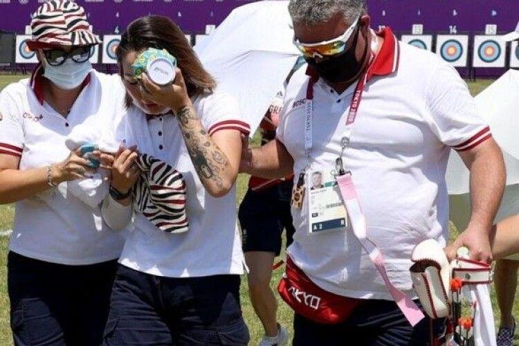 На Олімпіаді спека: російська спортсменка втратила свідомість