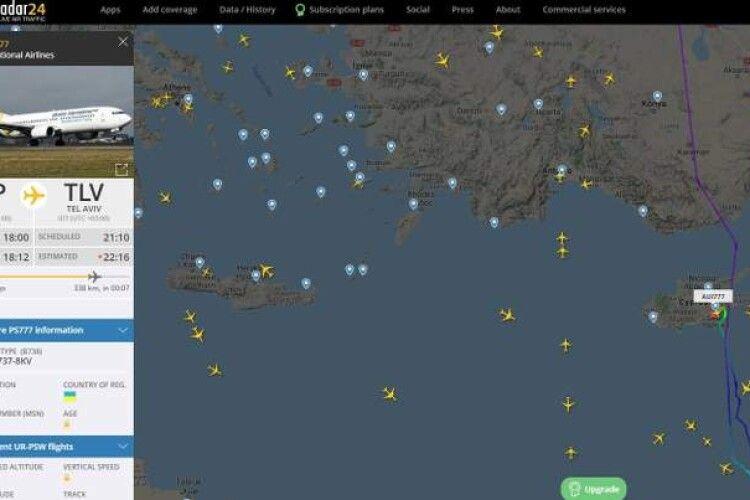 Аеропорт Тель-Авіва – опинився під обстрілом: український літак не зміг сісти
