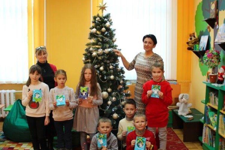 У Луцьку діти творили Різдвяне диво