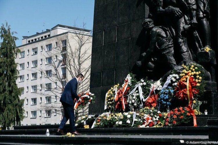 У Польщі відзначили річницю повстання у Варшавському гетто