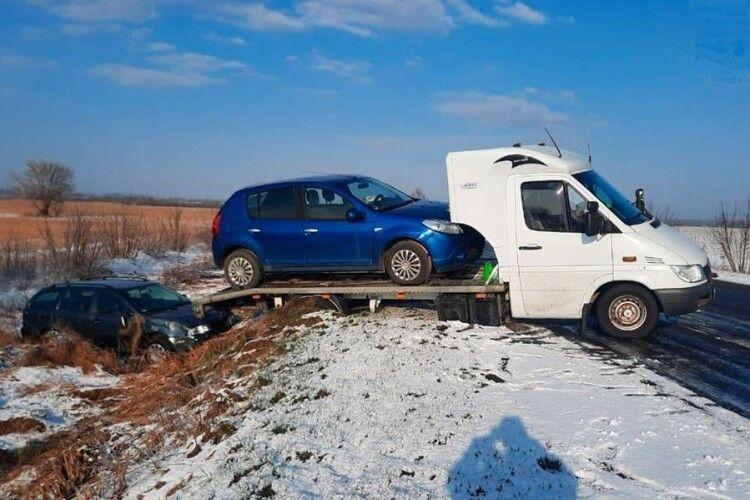 У ДТП на Волині постраждав водій