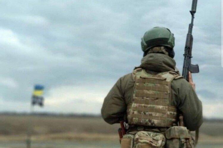 Протягом попередньої доби в зоні ООС поранено чотирьох захисників України
