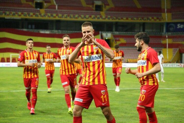 Артем Кравець відзначився голом у матчі чемпіонату Туреччини (Відео)