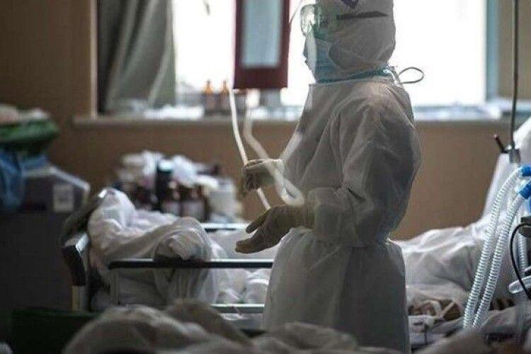На Волині завантаженість ліжок для ковід-хворих становить 26,6%