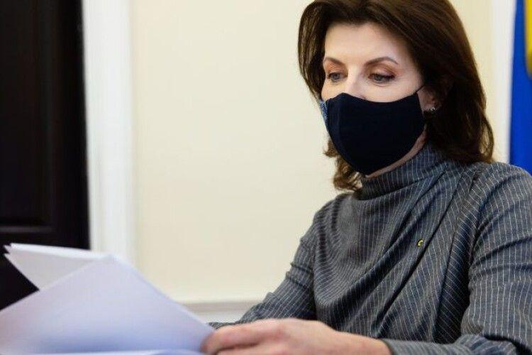 Марина Порошенко: реформа протитуберкульозних медзакладів потребує ретельної підготовки, щоб захистити громадян