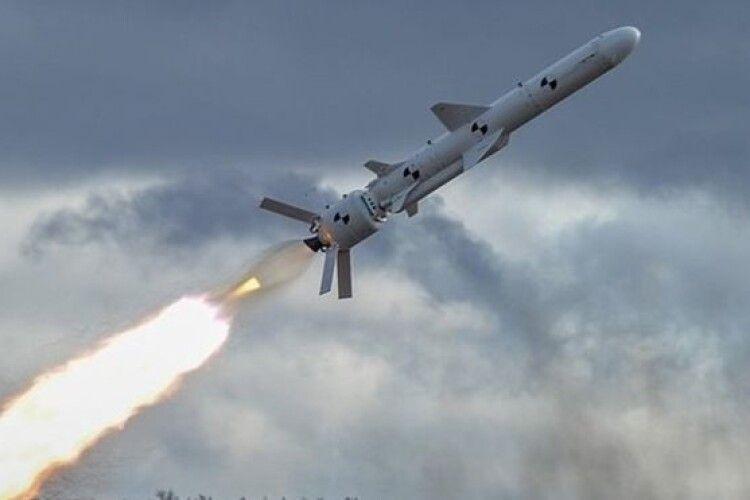 Уперше за часів незалежності наші військові випробували крилату ракету з бойовим зарядом