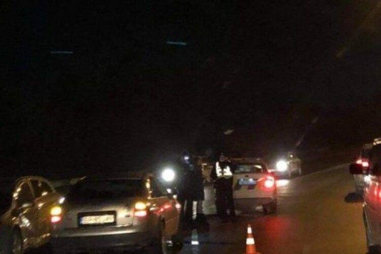 Аварія у Луцьку: на Набережній зіткнулися легковики (Фото)