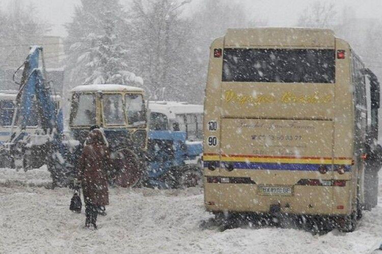 На Рівненщині готуються зупинити маршрутки та шкільні автобуси