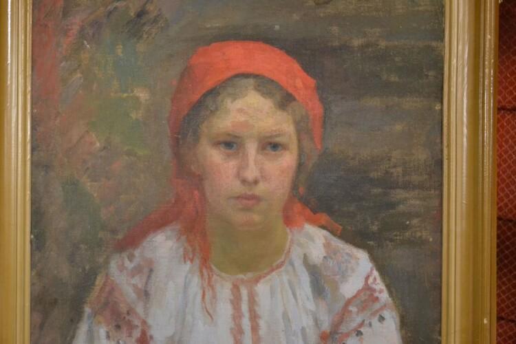 Українка. Портрет Олени Лазарчук. 1914-1915.