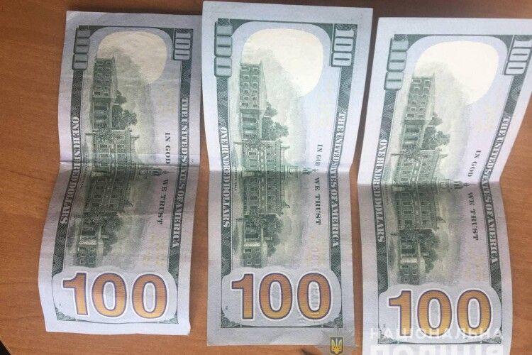 Волинянин на Рівненщині дав 300 доларів хабаря поліцейським