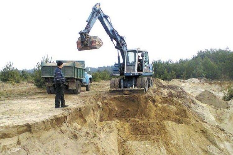 Сьогодні рожищенські депутати вивчатимуть два родовища, на яких підприємства хочуть видобувати пісок