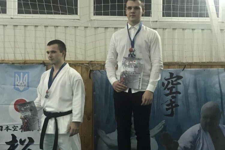 Студент Луцького НТУ став чемпіоном України з карате