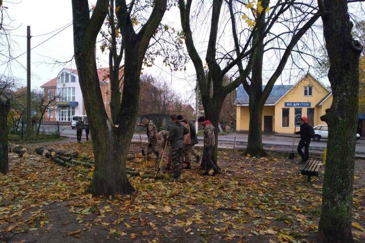 У селищі на Волині облаштовують «Містечко інтересів» (Фото)