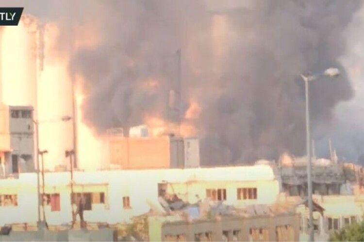 У Бейруті стався надпотужний вибух на фабриці з виробництва петард
