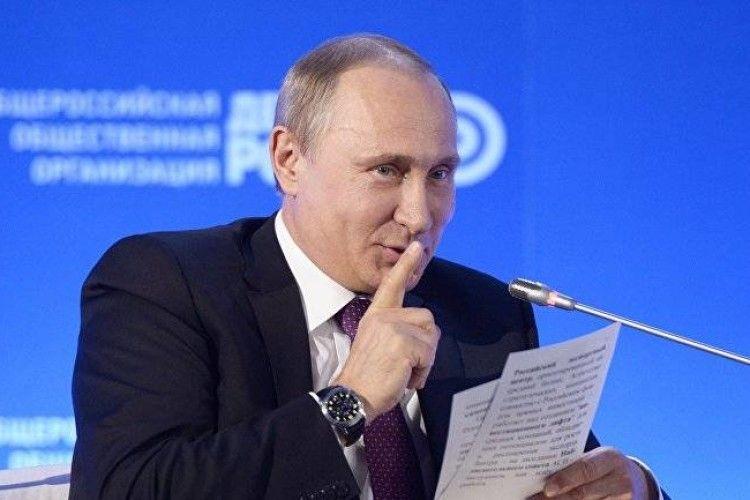 Путін знайшов роботу на випадок поразки у виборах