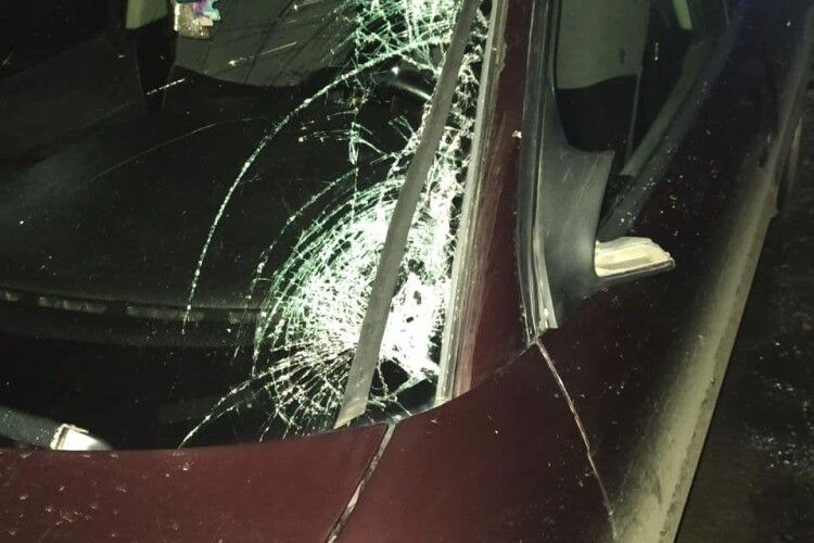 На Рівненщині 20-річний водій наїхав на пішохода: чоловік помер (Фото)