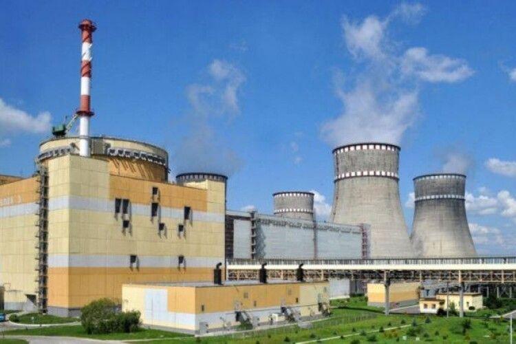 На Рівненській АЕС сталося відключення енергоблоку: з'ясовують причини