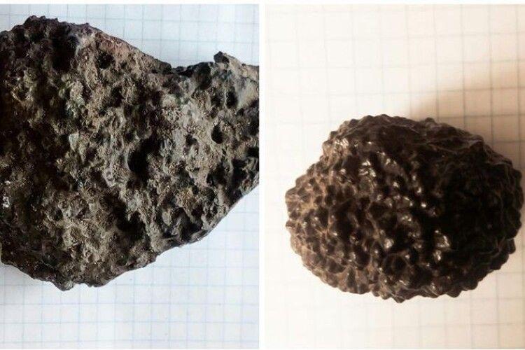 У Ковелі зберігають два метеорити
