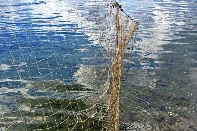 Волинський рибпатруль вилучив 17 заборонених знарядь лову