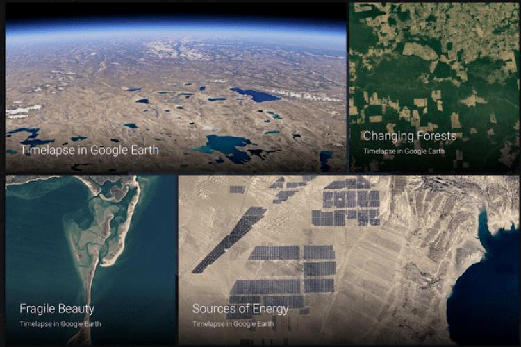 На Землі меншає вільного місця: Google показала, як змінюється планета (Відео)
