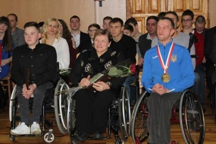 У Рівному нагородили паралімпійців