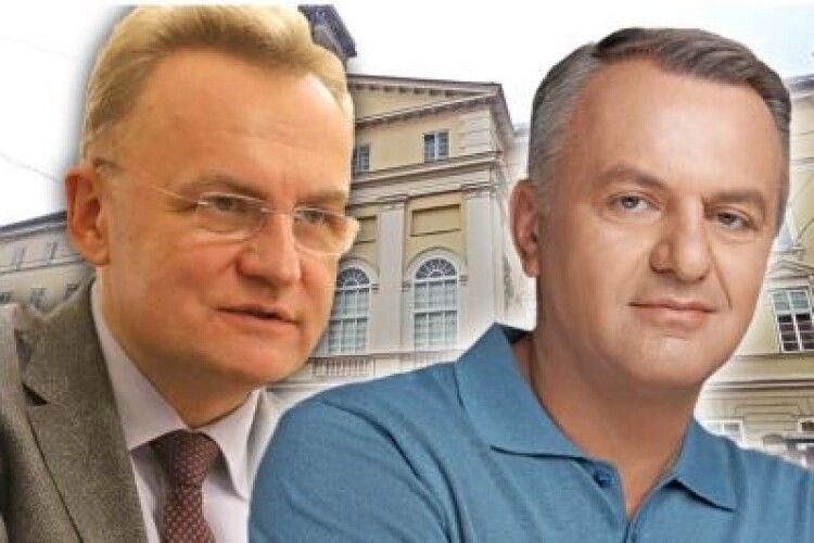 Олег Синютка переміг у дебатах Андрія Садового - телефонне опитування