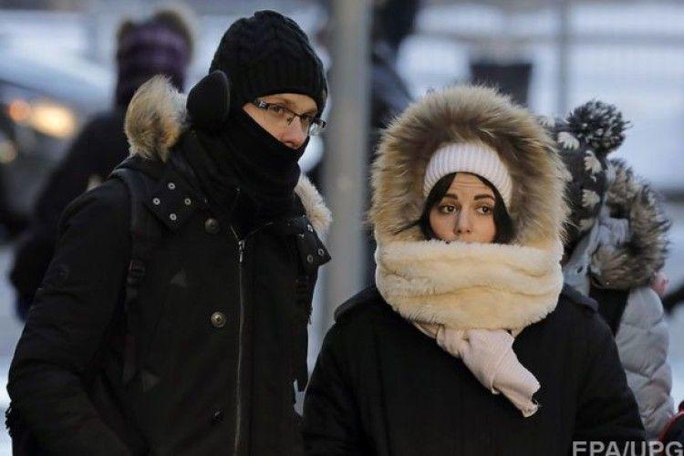 100 мільйонів американців потерпають від морозів до «мінус 40»