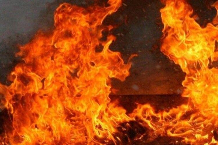 На Волині пожежники гасили вогонь і знайшли тіло чоловіка