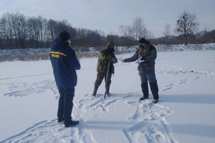 Рятувальники рейдували по водоймах Рожищенського району