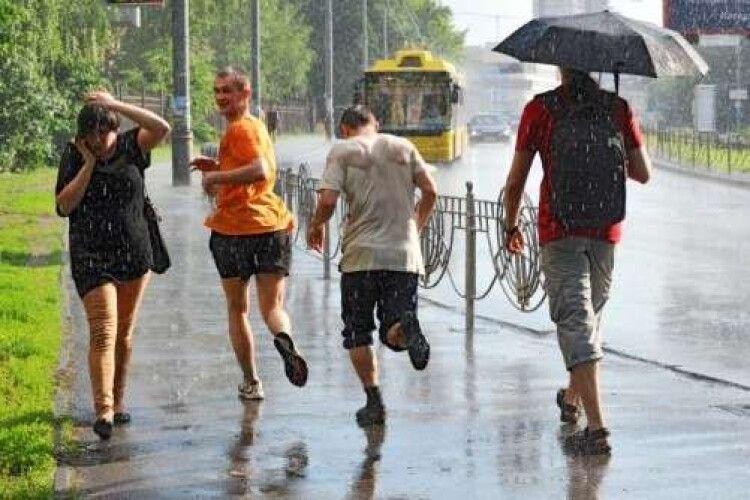 Погода на вівторок, 27 липня: на Волині спека і грози