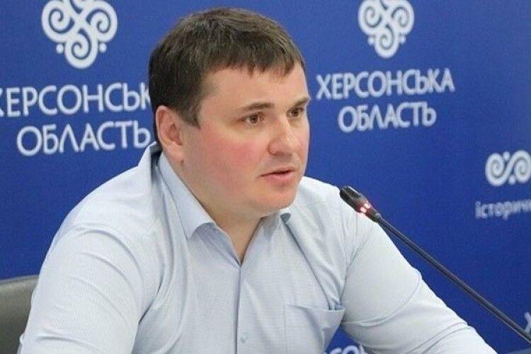 Кабмін погодив звільнення Юрія Гусєва з посади голови Херсонської ОДА